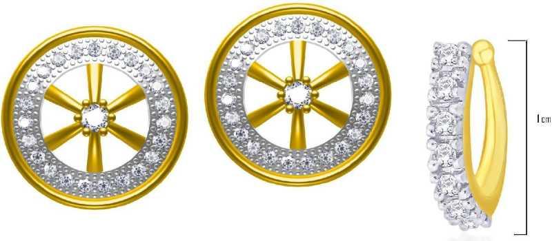 Flipkart Com Buy Twisha Twishas New American Diamond Nose Pin