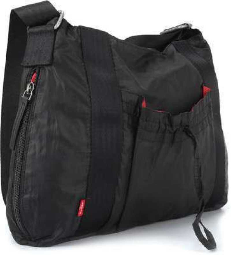 Buy Levi's Women Black Hand-held Bag Black Online @ Best