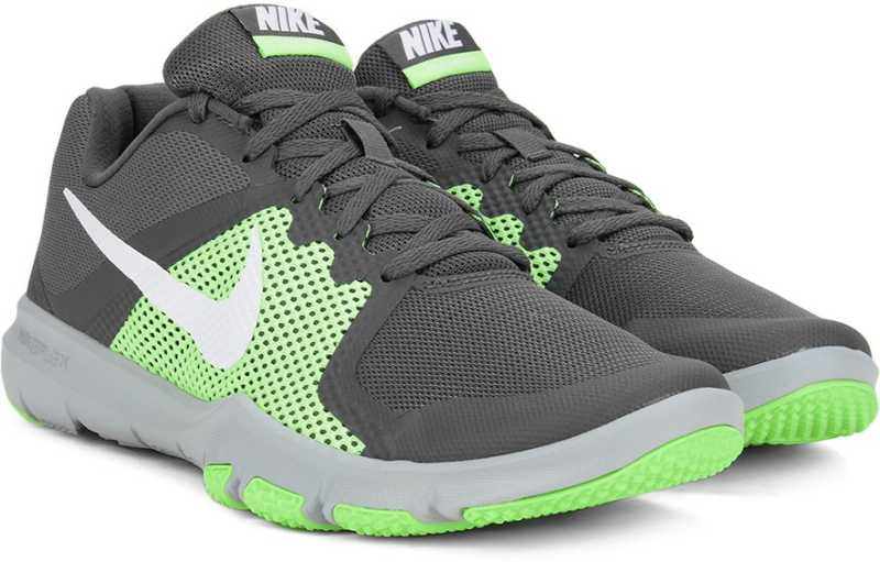 2a95179988cf5 Nike FLEX CONTROL Running Shoes For Men - Buy DARK GREY WHITE-GHOST GREEN  GRIS FONCE VERT FANTOME BLANC Color Nike FLEX CONTROL Running Shoes For Men  Online ...