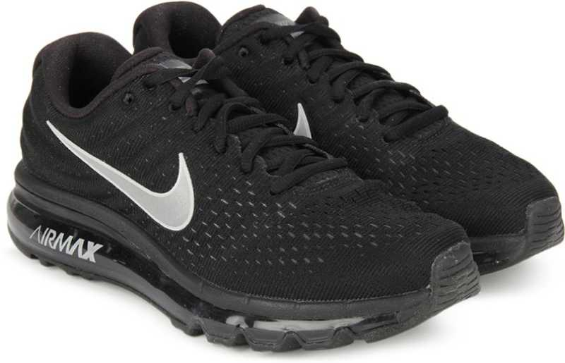 sale retailer dd568 1b488 Nike WMNS NIKE AIR MAX 2017 Running Shoes For Women (Black)