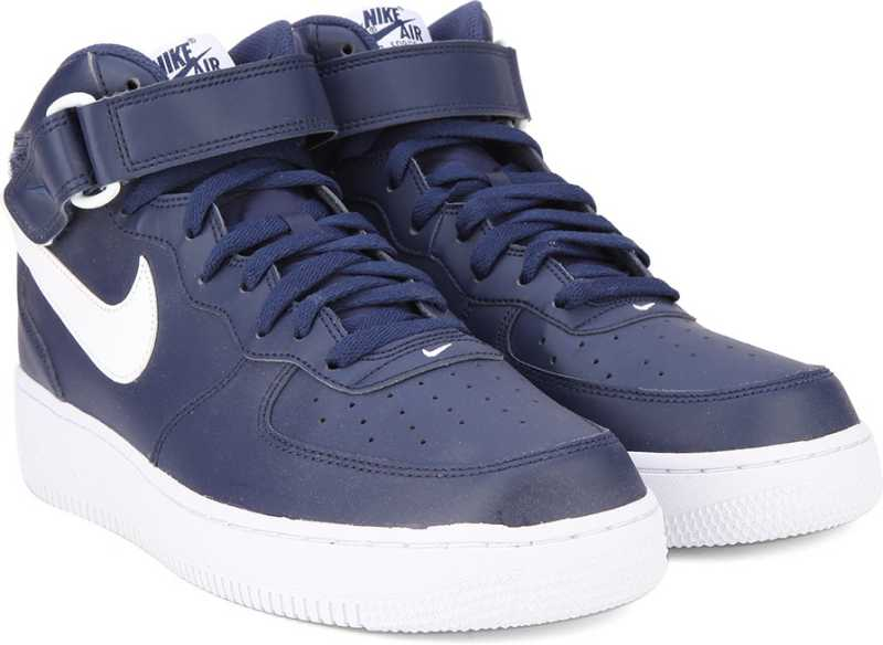 8b660214f7c Nike AIR FORCE 1 MID  07 Sneakers For Men - Buy MIDNIGHT NAVY   BLUE ...
