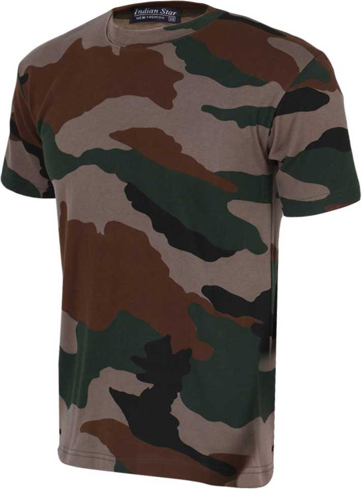 83827b84af8d ZACHARIAS Military Camouflage Men's Round Neck Multicolor T-Shirt - Buy  Camouflage ZACHARIAS Military Camouflage Men's Round Neck Multicolor T-Shirt  Online ...