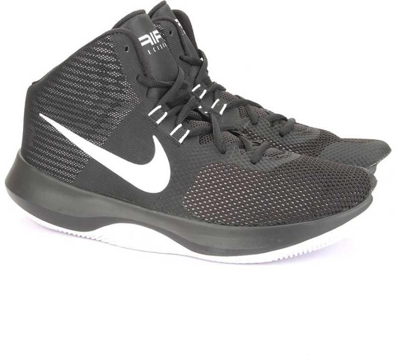 7efa848d7ec1 Nike AIR PRECISION Basketball Shoes For Men - Buy BLACK WHITE-COOL ...
