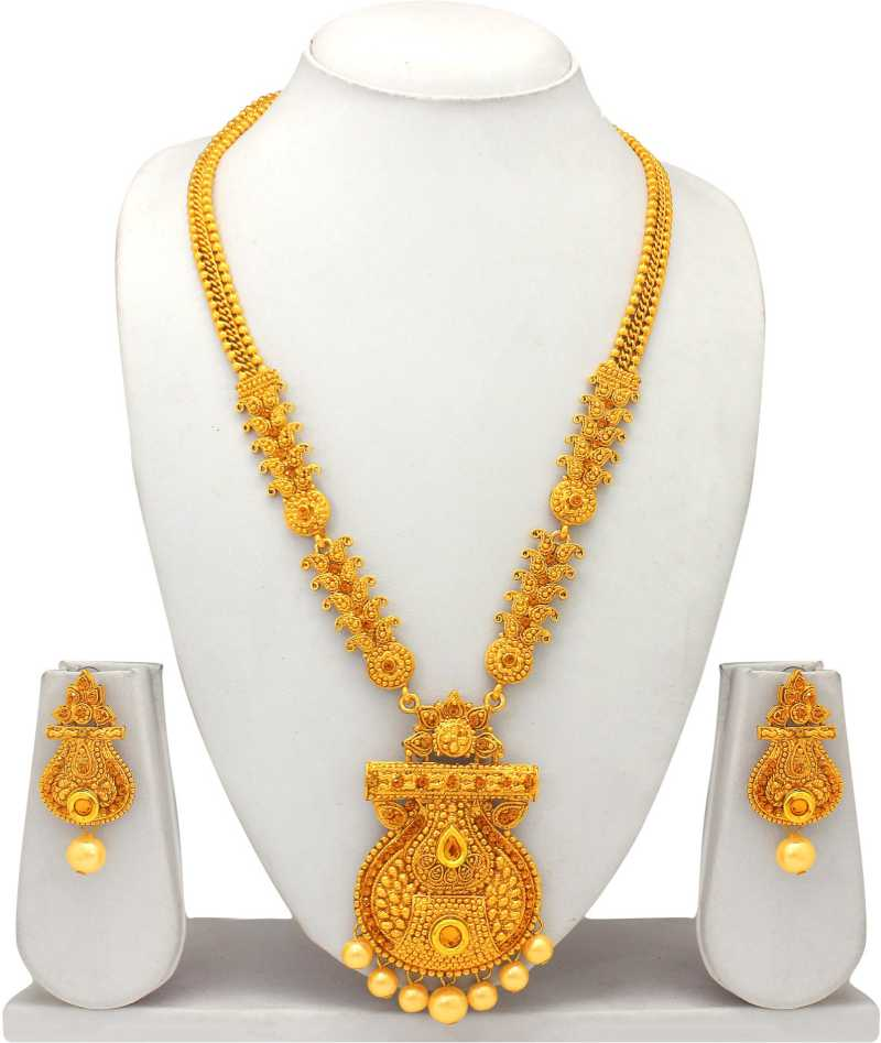 Alloy Jewel Set  (Gold) at Flipkart ₹378