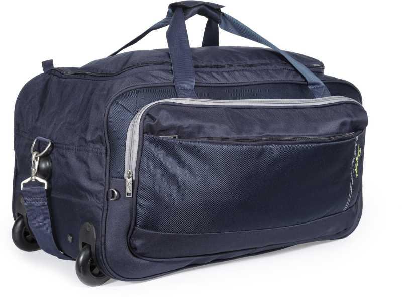 Skybags 25 Inch/63 Cm Cardiff (E) Duffel Strolley Bag (Blue)