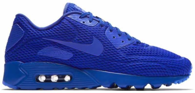 free shipping 46dc4 16138 Nike Air Max 90 Ultra Breathe Sneakers For Men (Blue)