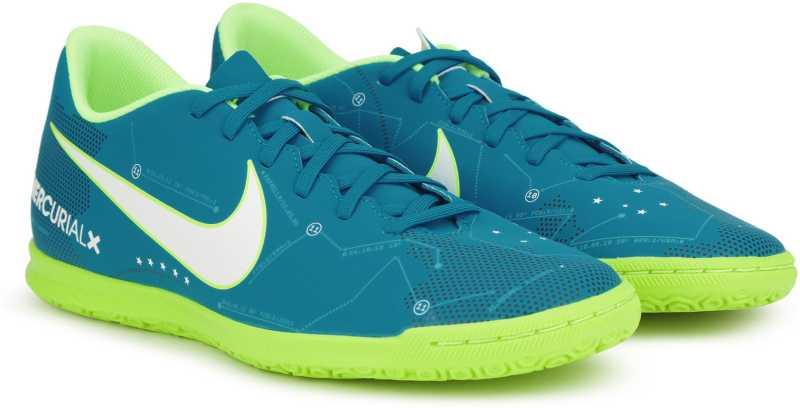 965286668315 Nike MERCURIALX VORTEX III NJR IC Football Shoes For Men - Buy BLUE ...