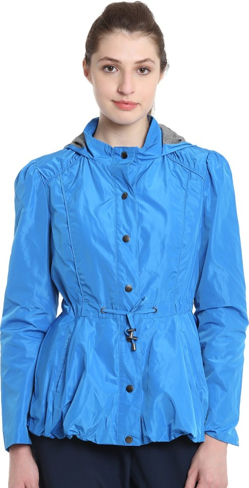 UCB Full Sleeve Solid Women Shooting Jacket