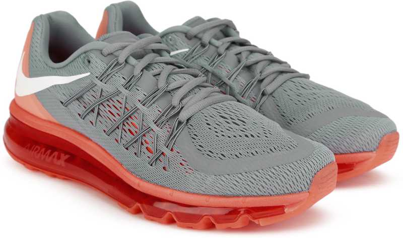 online retailer ecb17 d8fd2 Nike AIR MAX 2015 Running Shoes For Men (Grey)
