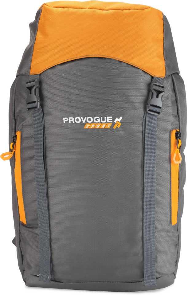 Provogue Sports TRAVELLER 30 L Backpack (Grey, Beige)