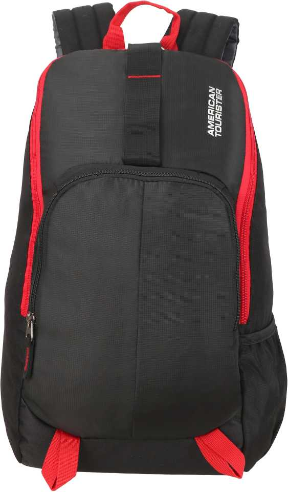 American TouristerFit Pack Gym 21 L Backpack Red, Black