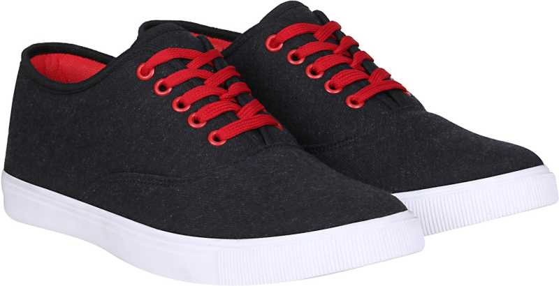 Dress to Kill Canvas Shoes For Men  (Black)