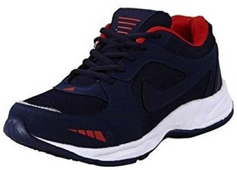 Mesh Running Shoes For Boys and Mens Running Shoes For Men  (Blue, Red) at Flipkart ₹378