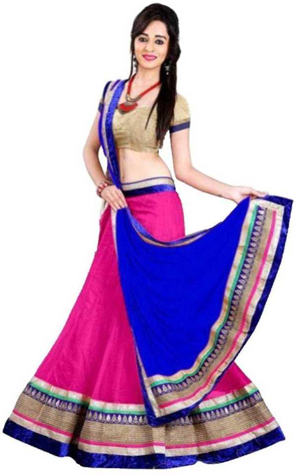 e57c8f36c6 Aika Embellished Lehenga, Choli and Dupatta Set - Buy Aika Embellished  Lehenga, Choli and Dupatta Set Online at Best Prices in India | Flipkart.com