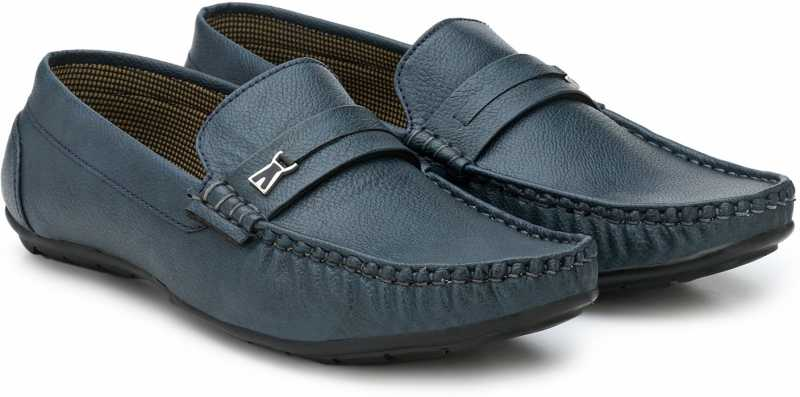 Get upto 50% off on Provogue Casual Shoes Loafers For Men Blue at flipkart