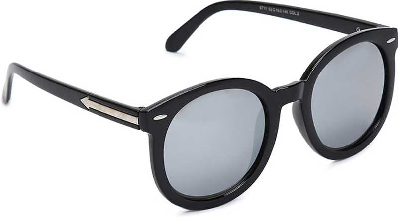Octa Unisex Oval Sunglasses