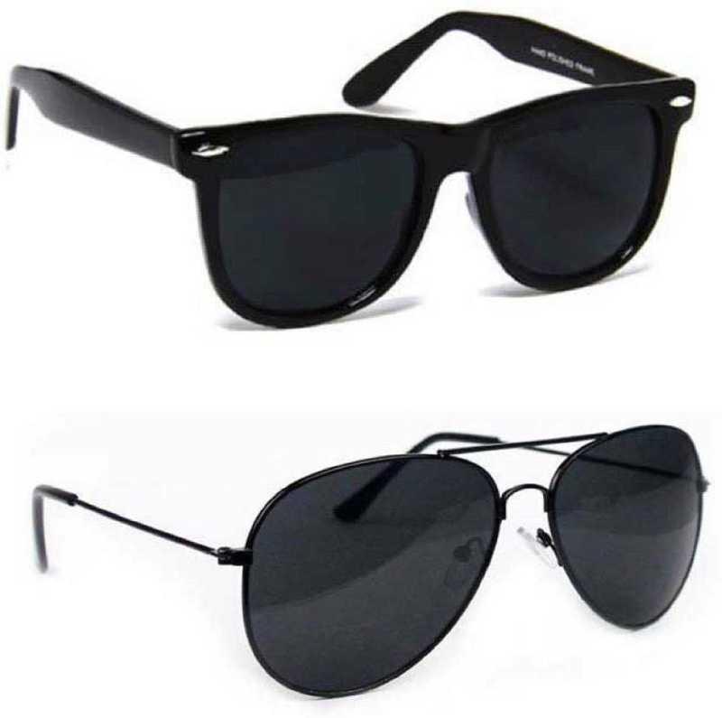 MAXX UV Protection, Polarized Aviator Sunglasses (Free Size)
