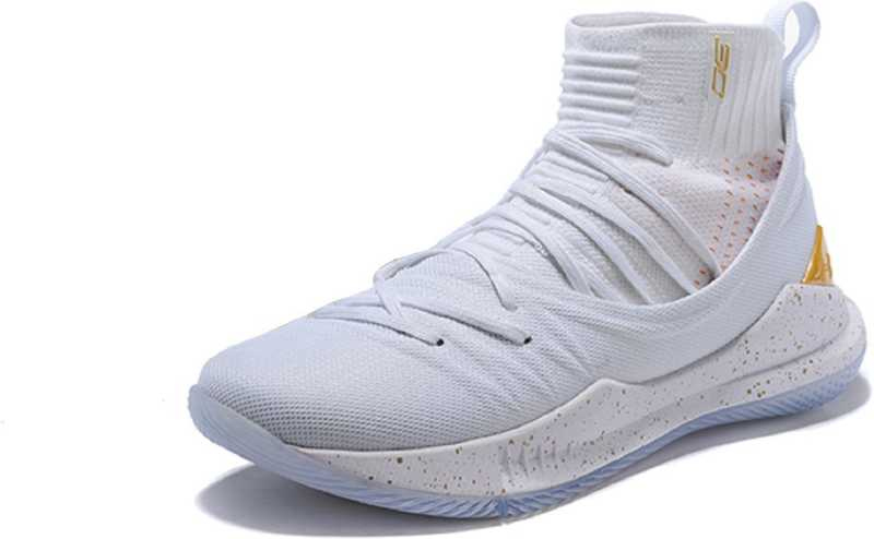 Under Armour Curry 5 the Under armour UA Curry 5 White Basketball Shoes For Men - Buy ...
