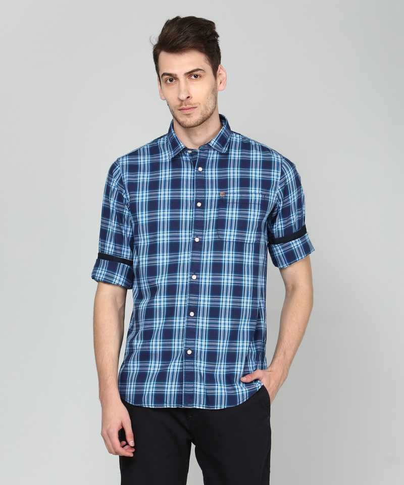 Men Checkered Casual Shirt