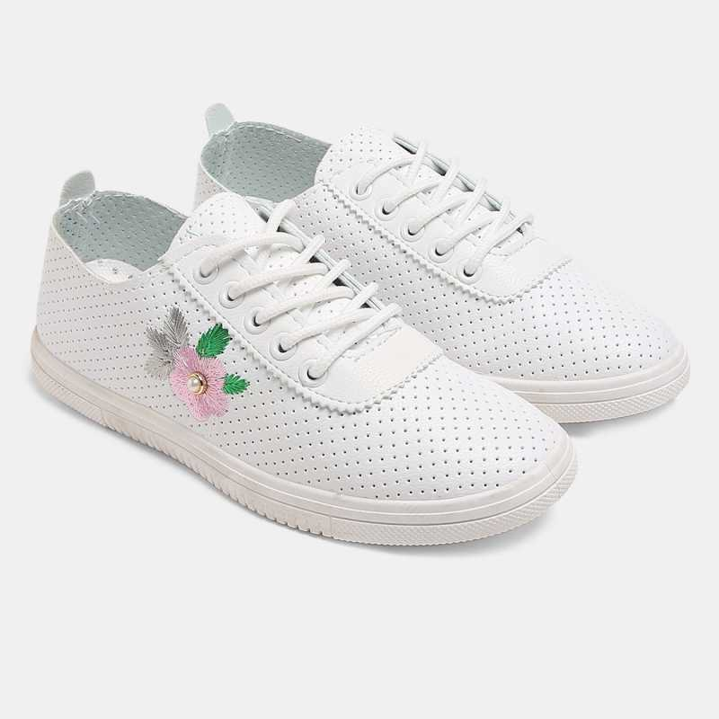 Cara Mia Sneakers For Women  (Pink)