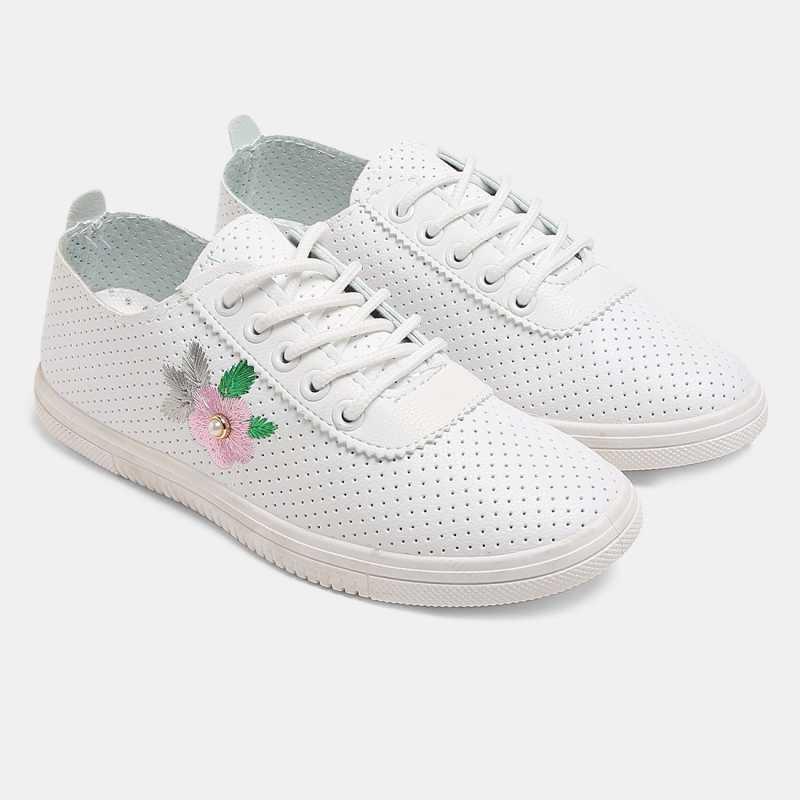 Cara Mia Sneakers For Women  (Pink)