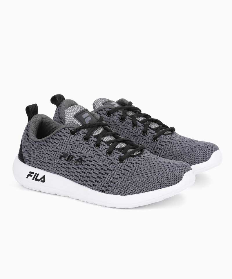 FILA CARMEN Running Shoes For Men  (Black, Grey)