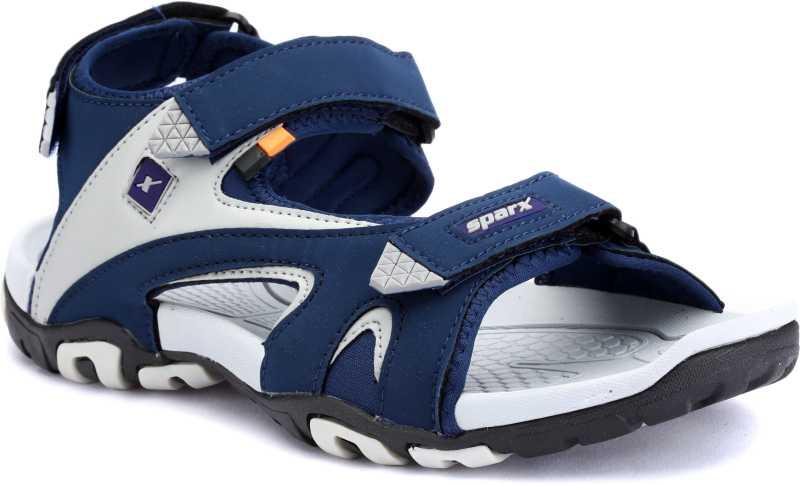 Sparx Sparx Men SS-453 Blue Grey Floater Sandals Men Blue,