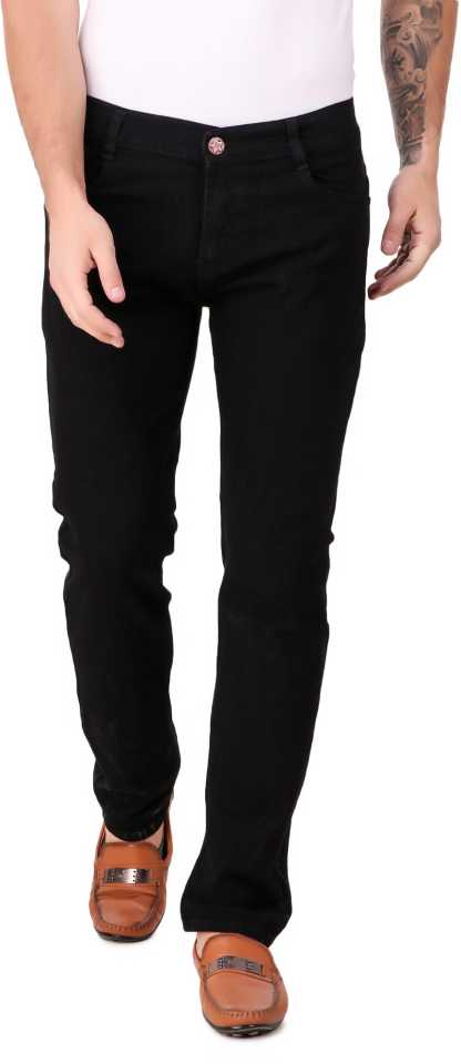 Regular Men Black Jeans thumbnail