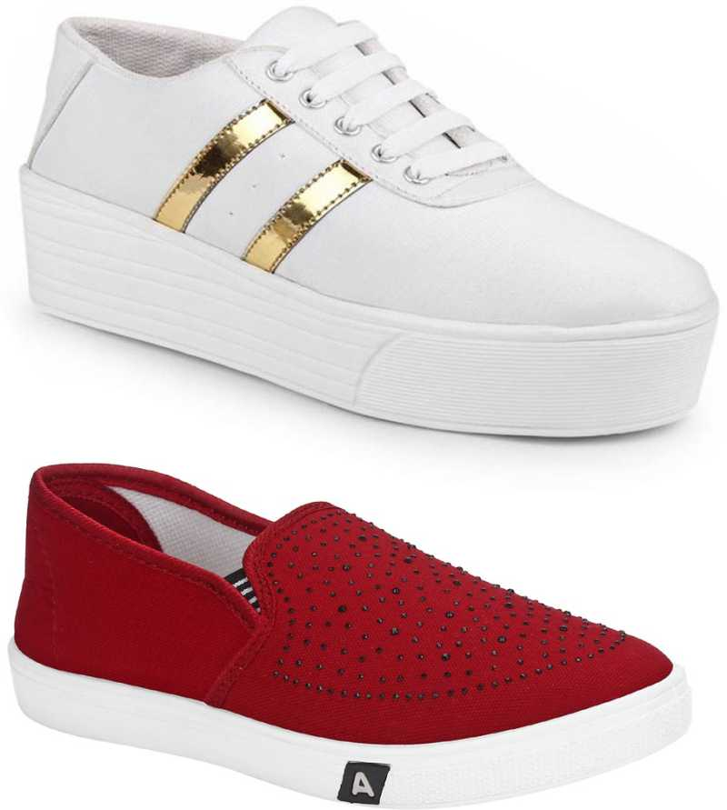 Combo of Sneakers For Women