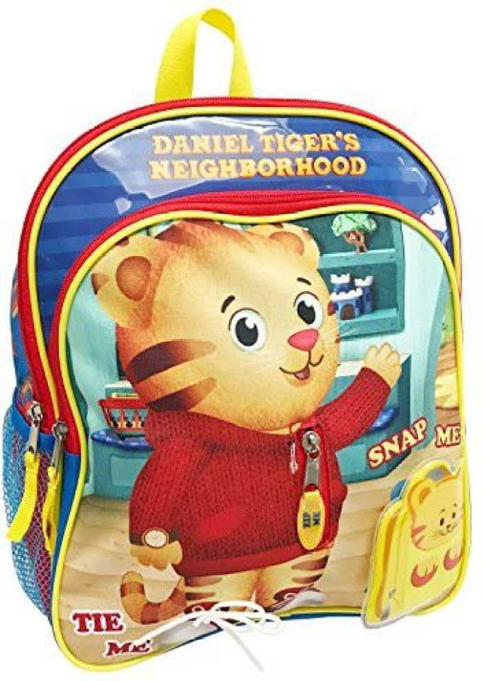 Genrc The Fred Rogers Company Kids Daniel Tiger 12 Inch Backpack Children S Blue One Size 5 L Backpack Multicolor Price In India Flipkart Com