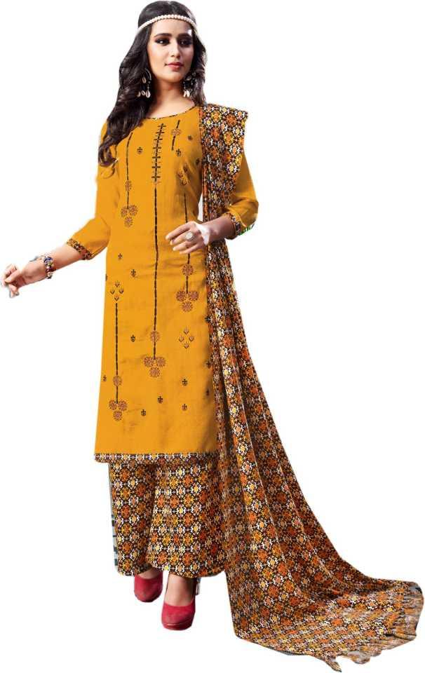 70bedb781b BKRKJ Wool Printed, Embroidered, Floral Print Salwar Suit Dupatta Material  (Un-stitched)