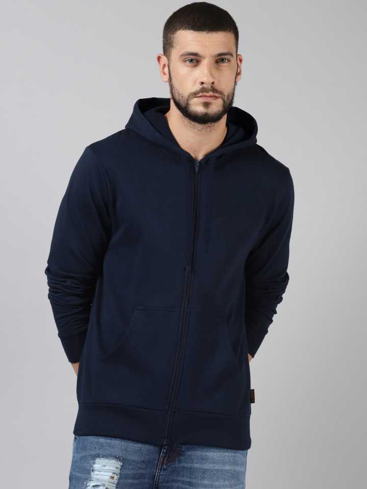 Full Sleeve Solid Men Sweatshirt thumbnail