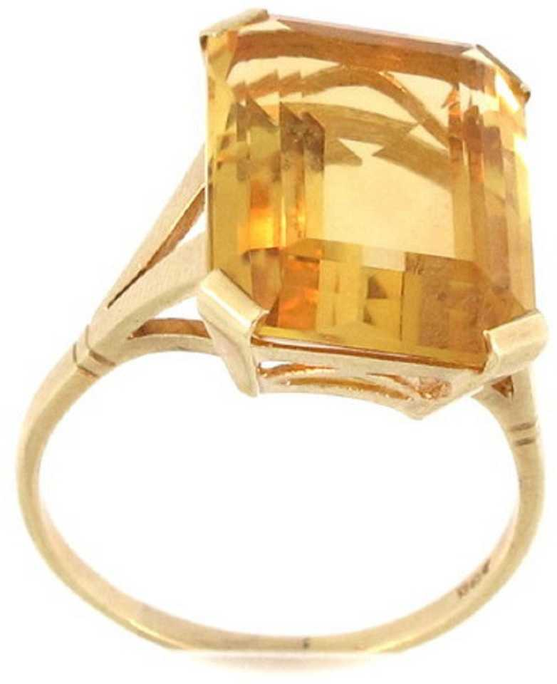 60b3b34e1345f Jaipur Gemstone Yellow Topaz Ring With Natural Topaz Stone Stone ...