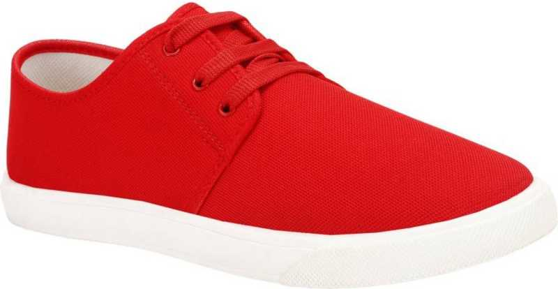 Loafers For Men  (Red)