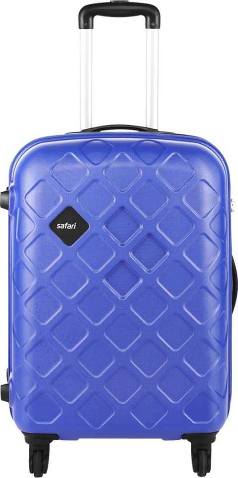 SafariMosaic Check in Luggage   26 inch Blue  Safari Suitcases