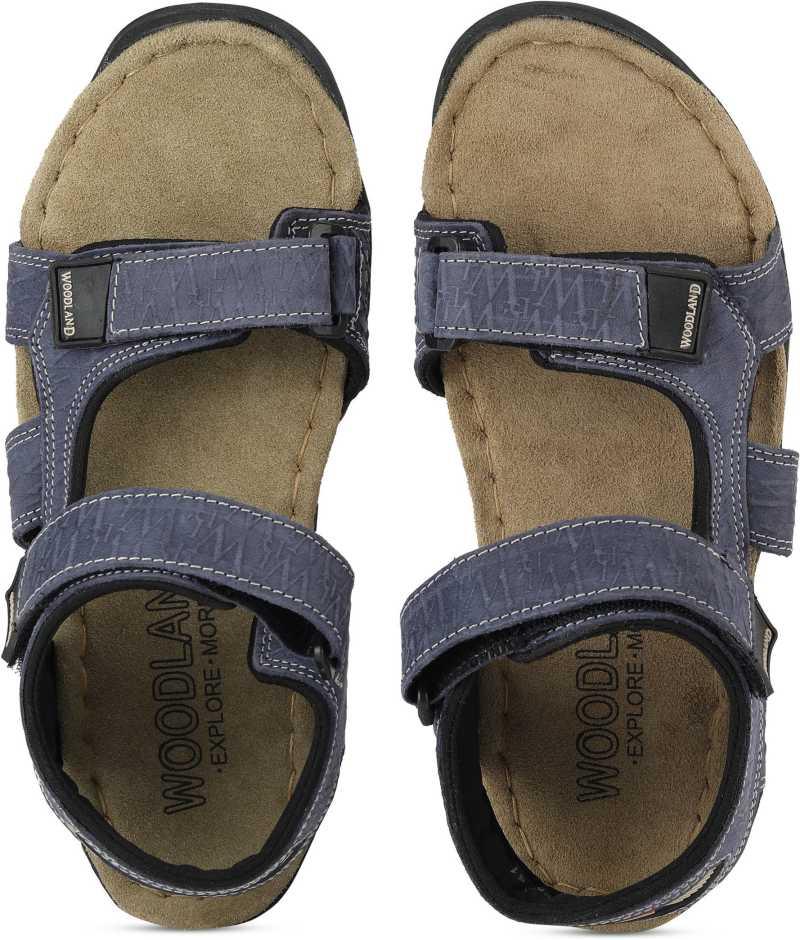 Woodland Men Green, Navy Sports Sandals