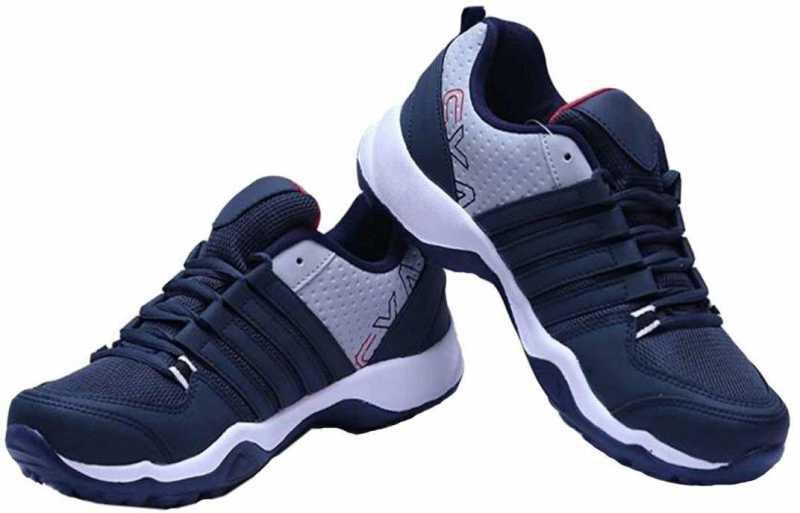 Running Shoes For Men  (Blue, White) at Flipkart ₹ 386