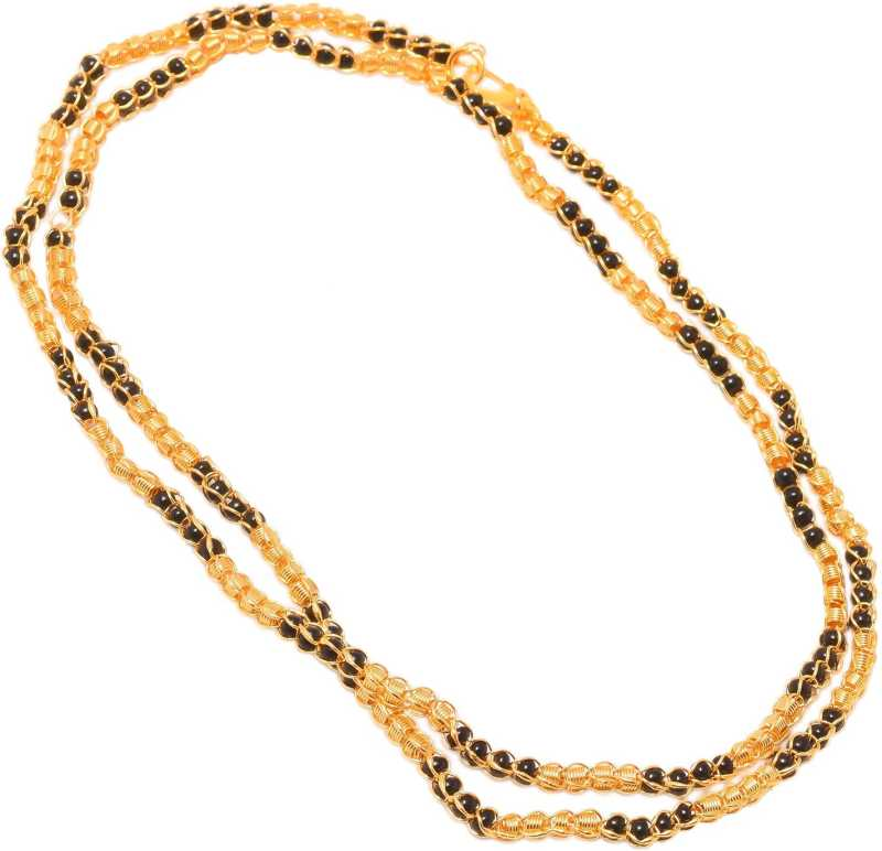 184b5f51073b7 Jewar Mandi Chain 30 Inch Gold Plated Stylish Look Jewelry for Men ...