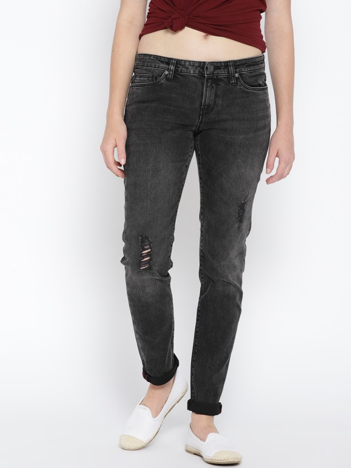 Vero Moda Regular Women Black Jeans