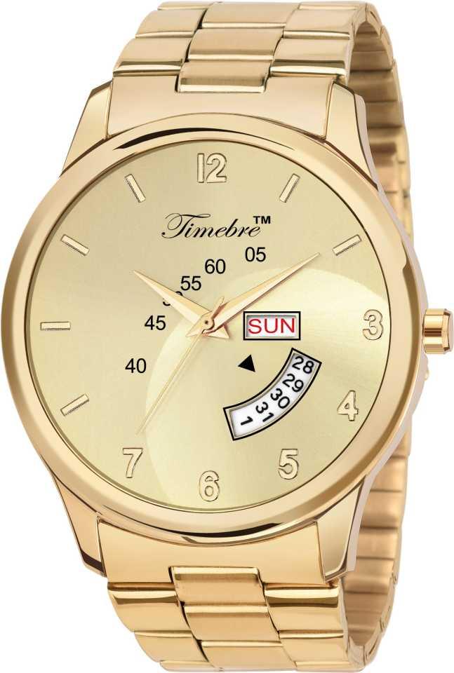 MXGLD221-5 Original Gold Plating Analog Watch – For Men