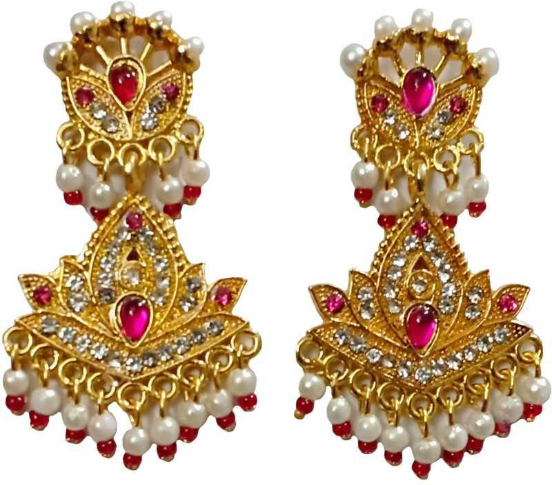 Flipkart Com Buy Beauty Plus Collection Rajputi Earrings Arr