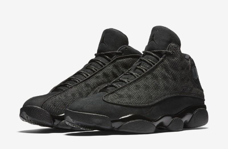 Black Cat'' Basketball Shoes For Men