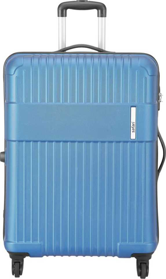 Safari STEALTH 77 4W ELECTRIC BLUE Check-in Luggage - 75 cm  (Blue)
