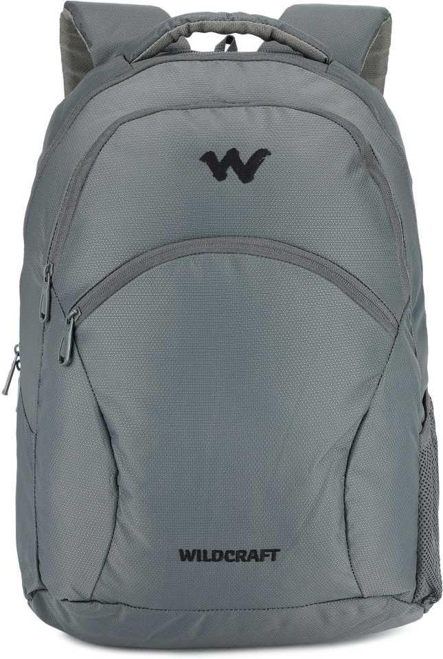 WildcraftMedium 21 L Laptop Backpack Ace 2_Grey Grey
