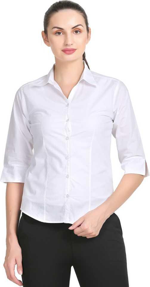 ZX3Women Solid Formal Shirt ZX3 Shirts