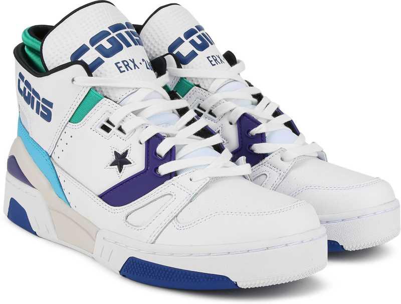 Converse Basketball Shoe For Men  (White)
