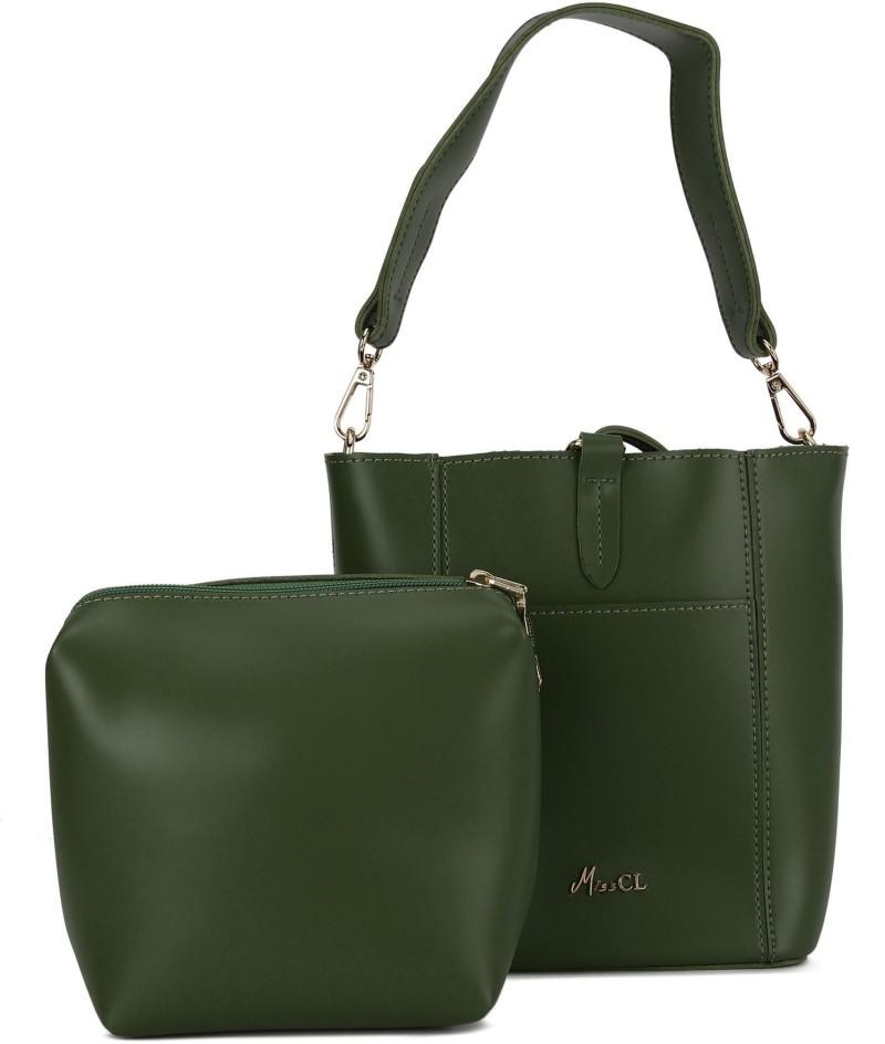 Green Women Sling Bag