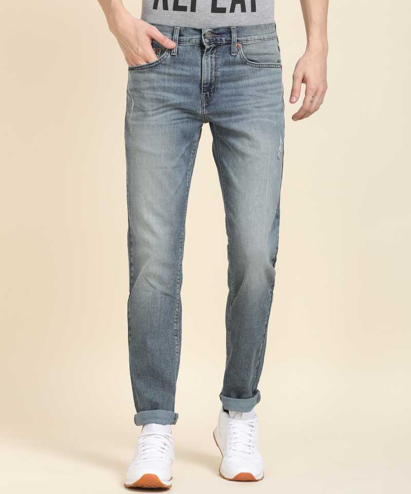 Denizen From Levi's Skinny Men Blue Jeans