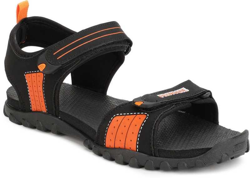 PROVOGUE  Men Black Sports Sandal