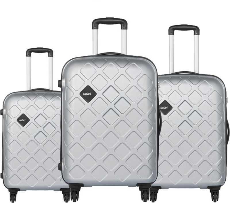 SAFARI  Hard Body Set of 3 Luggage